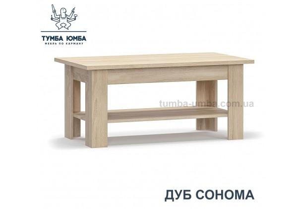 фото недорогой современный журнальный стол-110 Гресс цвет дуб сонома дешево от Мебель-Сервис с доставкой по всей Украине в интернет-магазине TUMBA-UMBA™