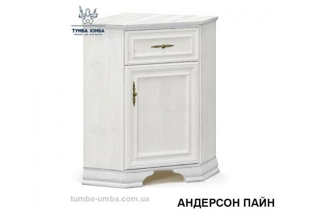 Фото недорогой классический угловой комод Ирис ДСП белый цвет дешево от производителя с доставкой по всей Украине в интернет-магазине TUMBA-UMBA™
