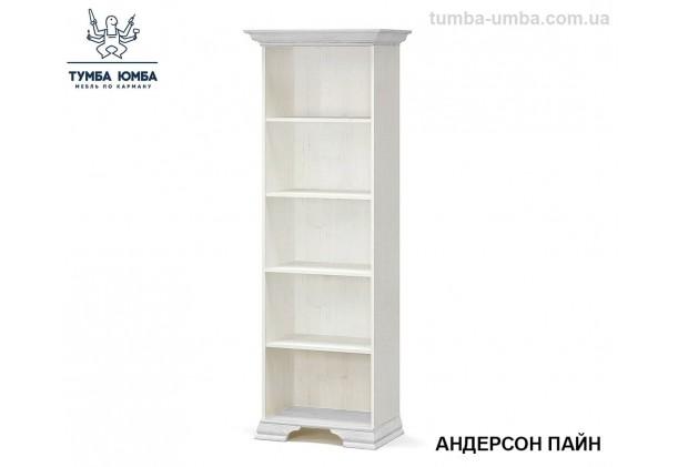 Фото недорогой стандартный мебельный открытый стеллаж Ирис ДСП с полками для дома и офиса в цвете белый дешево от производителя с доставкой по всей Украине в интернет-магазине TUMBA-UMBA™