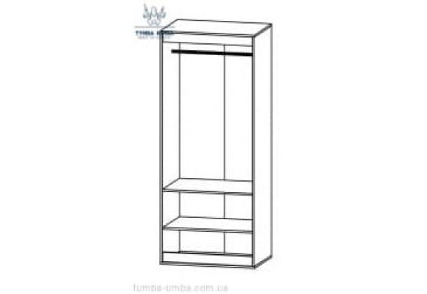 Шкаф одёжный 4Д Лами МС