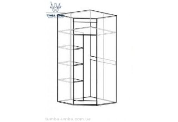Угловой шкаф одёжный Лами МС