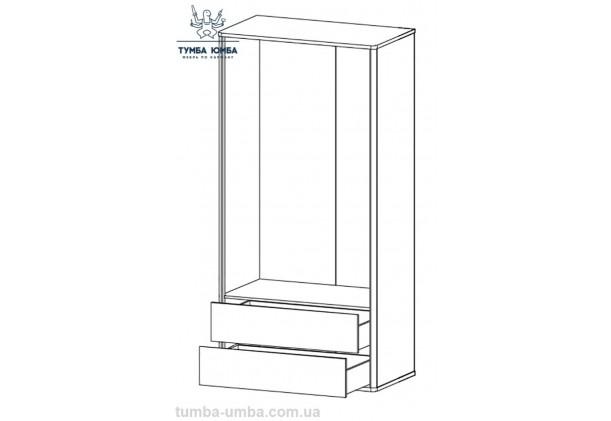 Шкаф одёжный 2Д2Ш Лео МС