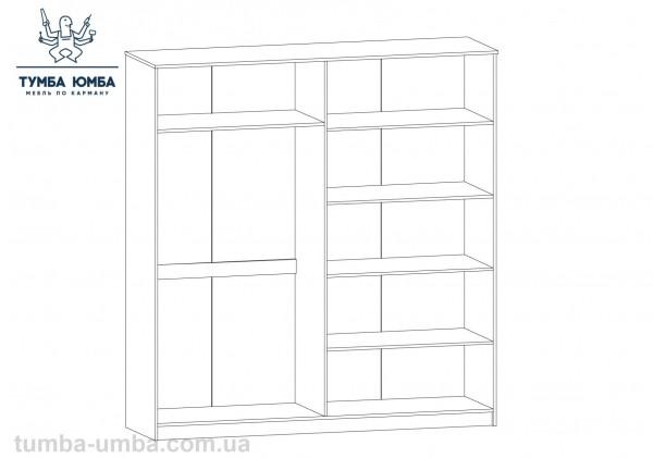 Шкаф одёжный 4Д Маркос