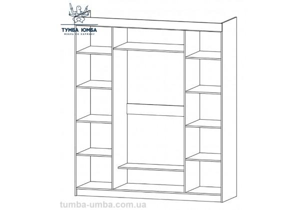 Шкаф одёжный 4Д Милан МС