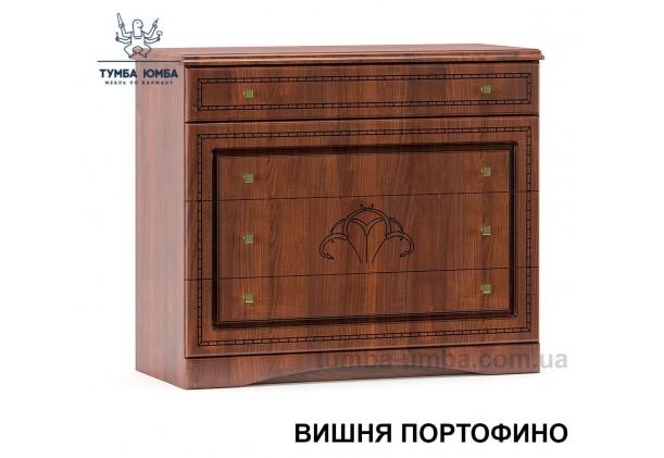 Фото недорогой современный комод Милано МДФ цвет вишня портовино дешево от производителя с доставкой по всей Украине в интернет-магазине TUMBA-UMBA™