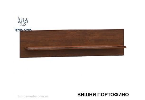 фото недорогая настенная полка Салма в вишня портофино для книг в гостиную, над столом, кухню или прихожую дешево от производителя с доставкой по всей Украине в интернет-магазине TUMBA-UMBA™