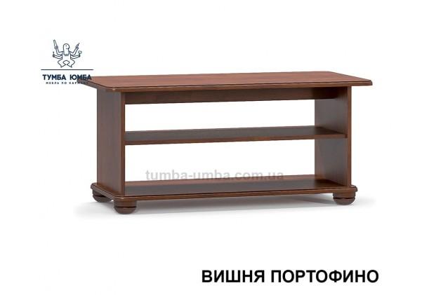 фото недорогой современный журнальный стол Салма МДФ цвет вишня дешево от производителя с доставкой по всей Украине в интернет-магазине TUMBA-UMBA™