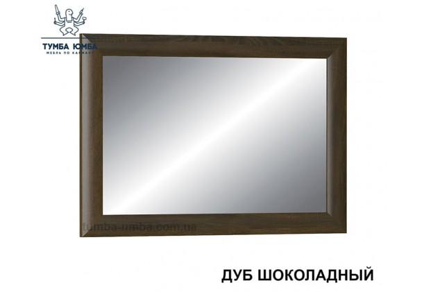 Фото недорогое готовое Зеркало Парма на стену в зал, прихожую, спальню или офис в цвете дуб шоколадный дешево от производителя с доставкой по всей Украине