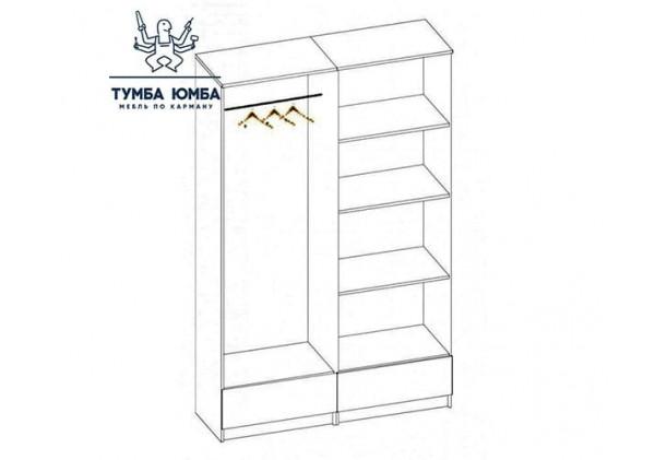Шкаф одёжный 4Д Соната МС