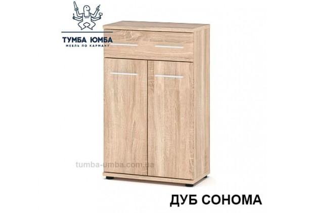 Фото недорогая готовая стандартная тумба Трио ДСП для дома и офиса в цвете дуб сонома дешево от производителя с доставкой по всей Украине