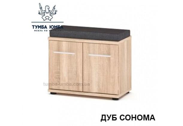 фото недорогой современной тумбы для обуви Трио дуб сонома в прихожую в интернет-магазине мебели эконом-класса TUMBA-UMBA™
