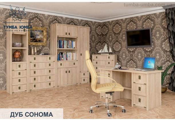 фото модульная мебель Валенсия для гостиной цвет дуб сонома в интерьере дешево от производителя с доставкой по всей Украине в интернет-магазине TUMBA-UMBA™