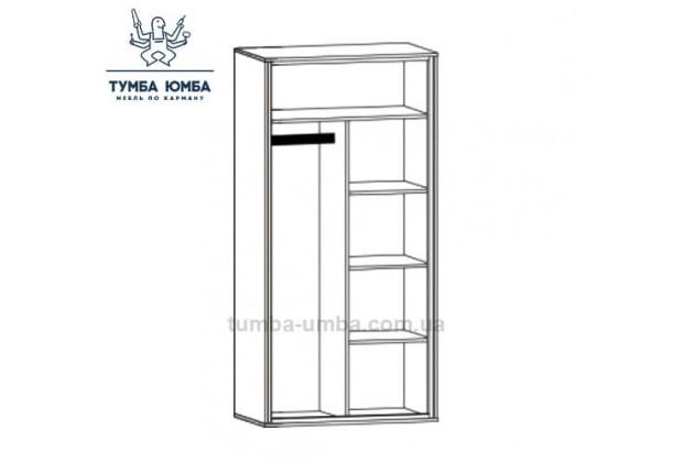 Шкаф одёжный 2Д Велс МС