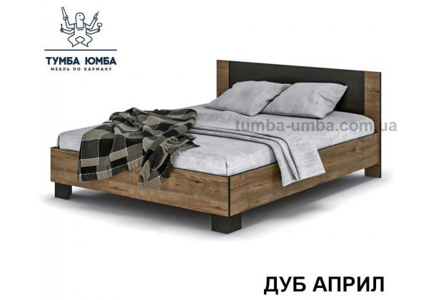 фото стандартная двуспальная кровать Вероника 160 см в цвете дуб април дешево от производителя с доставкой по всей Украине
