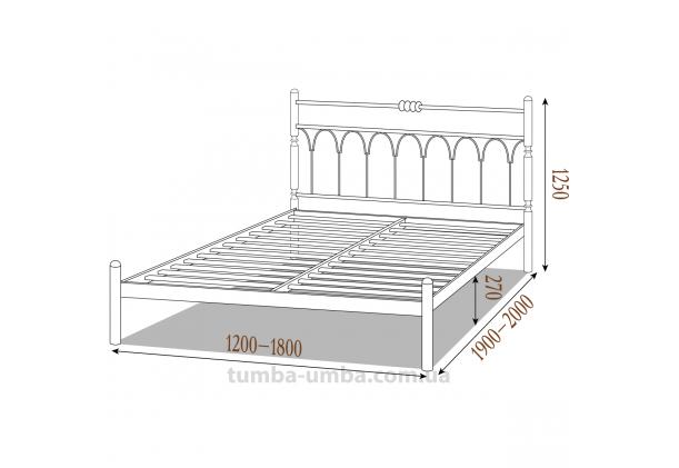 Кровать металлическая Тиффани