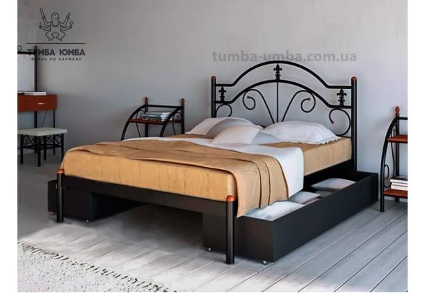 Односпальная металлическая кровать Диана