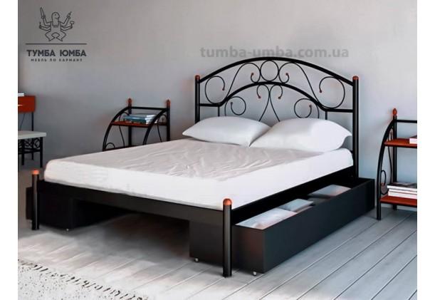 Кровать металлическая Скарлет