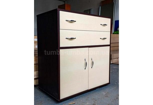 Комод 2+2 с дверцами и ящиками