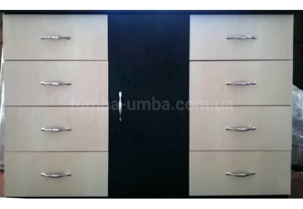 Комод 8+1 с дверцами и ящиками
